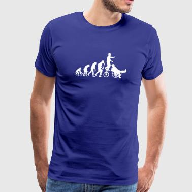 Evolution Theory hals und beinbruch  (circus clown) - Men's Premium T-Shirt