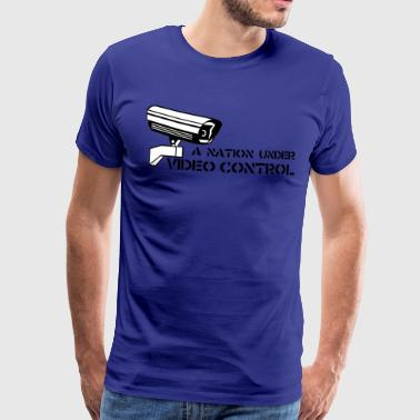 Video Control - Männer Premium T-Shirt