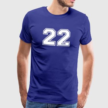 22 centimeter - Men's Premium T-Shirt