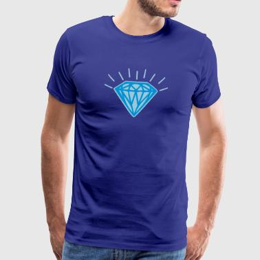 Shiny Diamond - Men's Premium T-Shirt