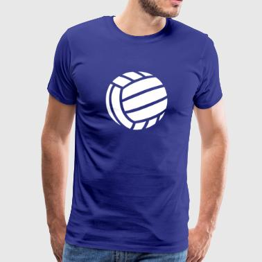 Volleybal  Volley Bal  - Mannen Premium T-shirt