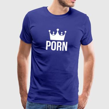 king of porn - Men's Premium T-Shirt