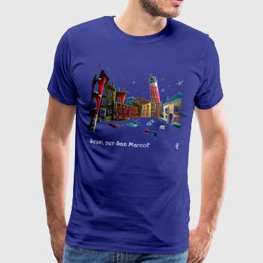 Lost in Venice - Funny T-shirts - Men's Premium T-Shirt