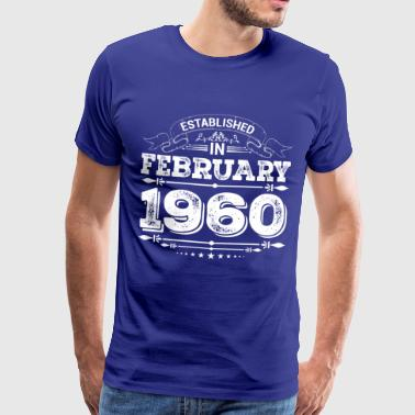 Established in February 1960 - Männer Premium T-Shirt