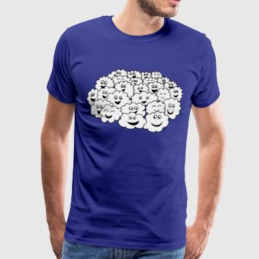 Cloud of clouds - Men's Premium T-Shirt