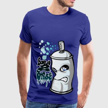 Spray and graffiti - Men's Premium T-Shirt