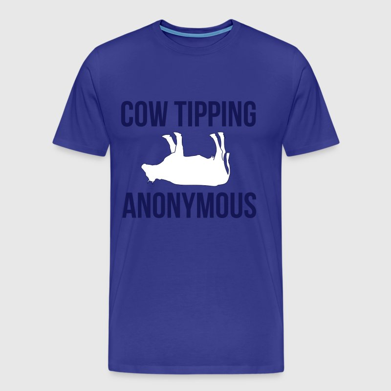 Cow Tipping Anonymous - Men's Premium T-Shirt