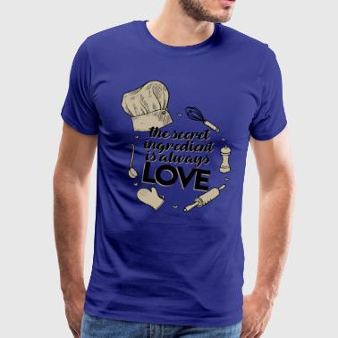 Recipe love - Men's Premium T-Shirt