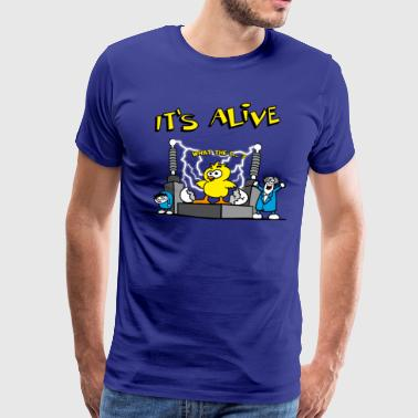 its_alive_chick_b - Men's Premium T-Shirt
