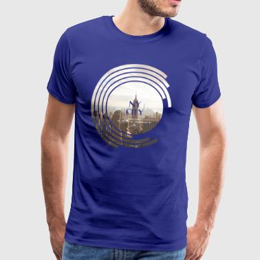 New York City - Spectrum - Mannen Premium T-shirt
