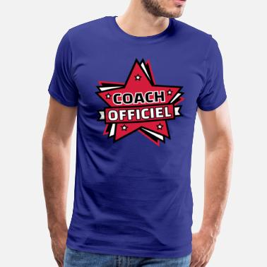 Coach Officiel COACH OFFICIEL - T-shirt Premium Homme