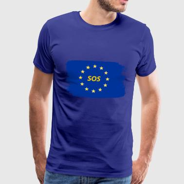 Europe Flag - Men's Premium T-Shirt
