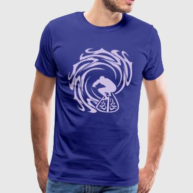 Surfer Surfer - Men's Premium T-Shirt