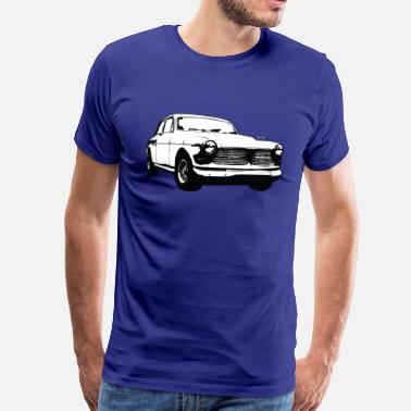 Volvo Amazon illustration - Premium-T-shirt herr