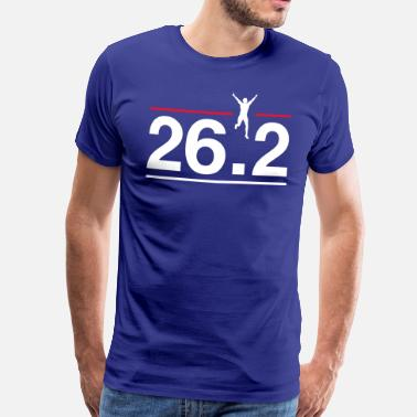 26.2 Marathon 26.2 Finish Line - Men's Premium T-Shirt