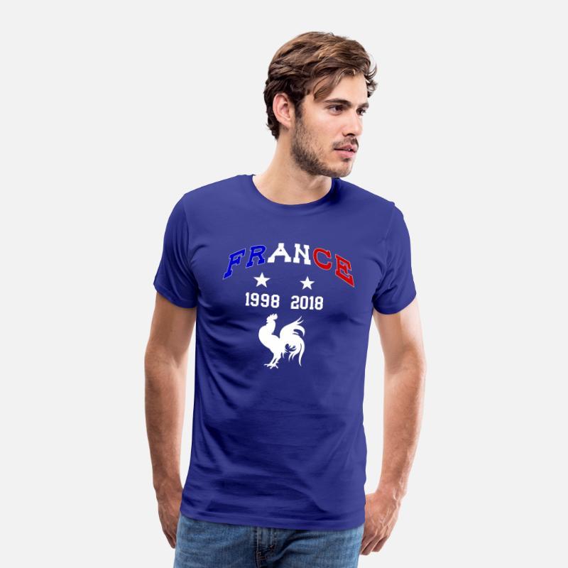 T Shirt Champion Du Monde France 2018 Men S Premium T Shirt Royal Blue