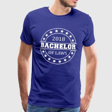 Bachelor of Laws i 2018 - Herre premium T-shirt