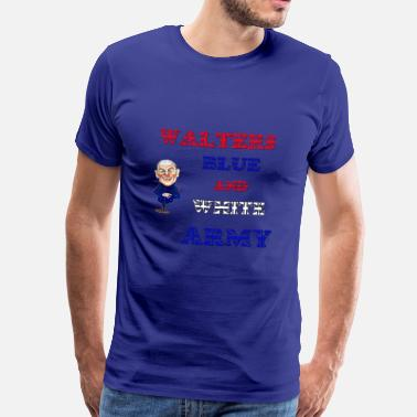 Walter White walters blue and white army - Men's Premium T-Shirt