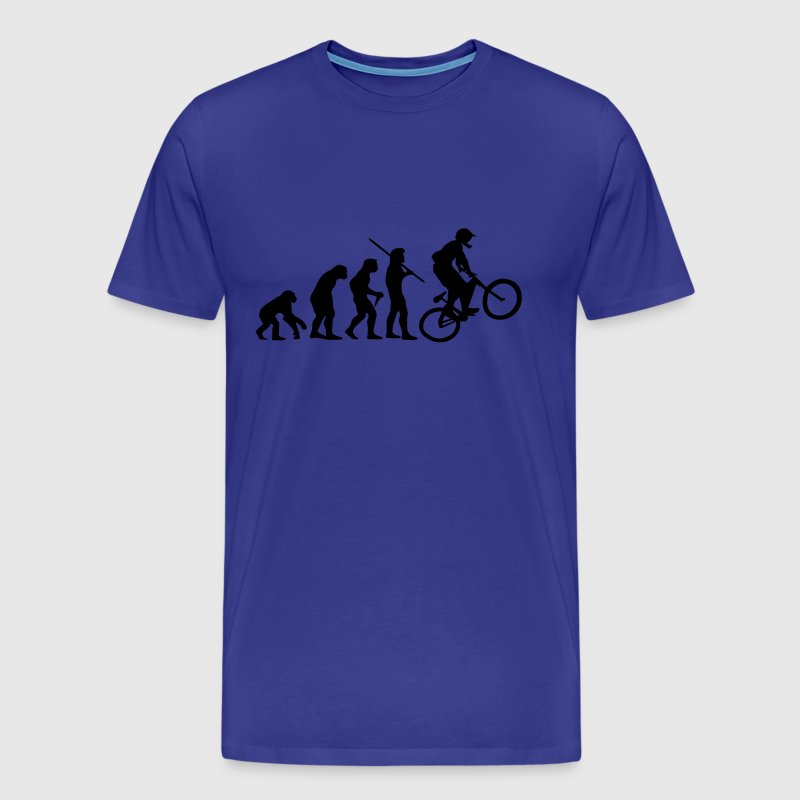 Evolution Mountain Bike - T-shirt Premium Homme