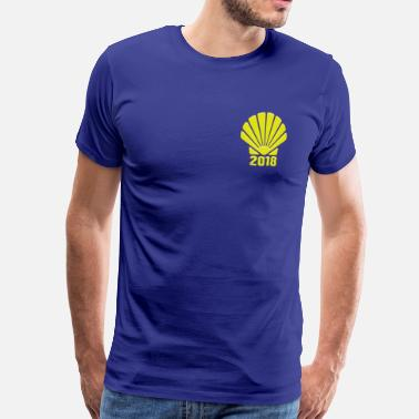 Way of St. James 2018 Camino de Santiago - Men's Premium T-Shirt