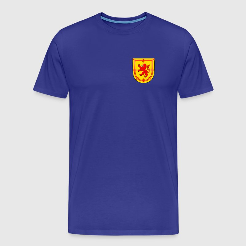 scotland lion coat arms - Men's Premium T-Shirt