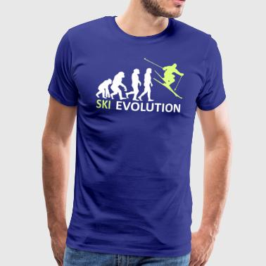 ++ ++ Ski Evolution - T-shirt Premium Homme