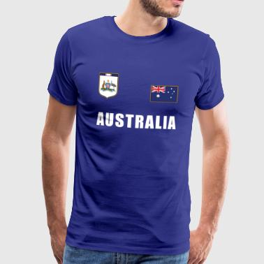 Australia Australian flag jersey football World Cup - Men's Premium T-Shirt
