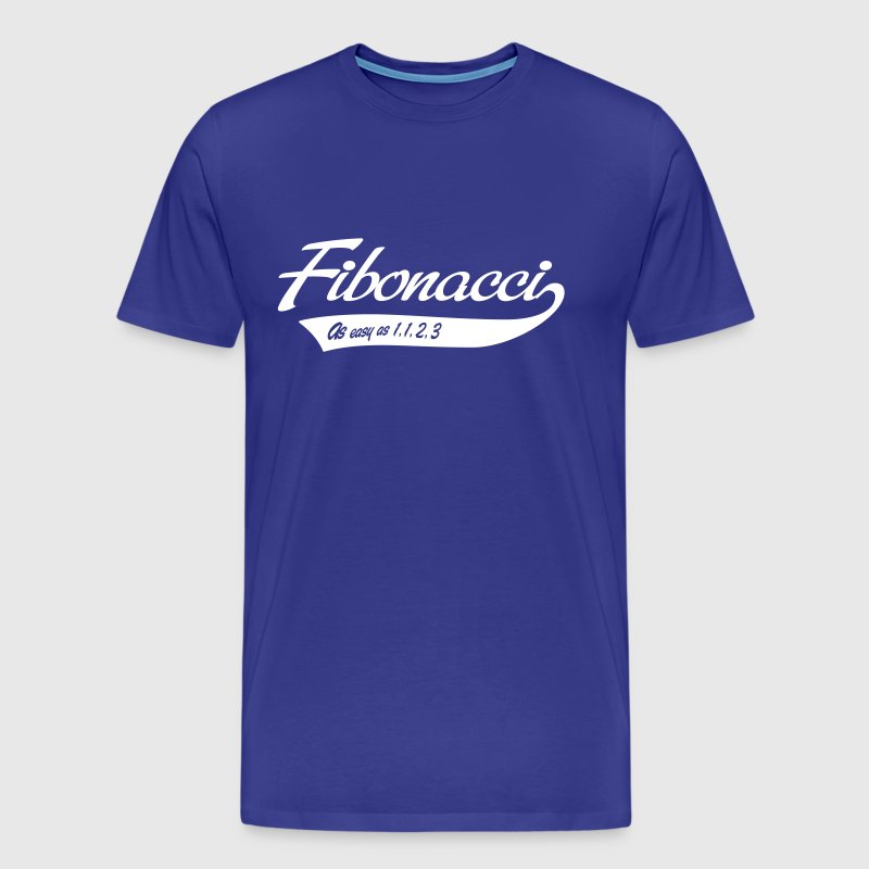 Fibonacci. As easy as 1, 1, 2, 3 - Men's Premium T-Shirt