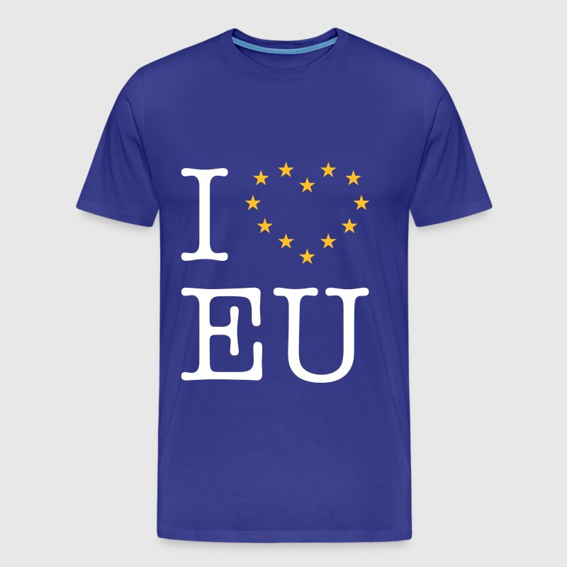 I Love EU (Europe) - Men's Premium T-Shirt