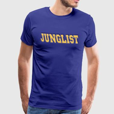 Bass Drum Junglist - Men's Premium T-Shirt