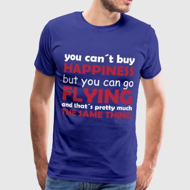 happiness flying - Men's Premium T-Shirt