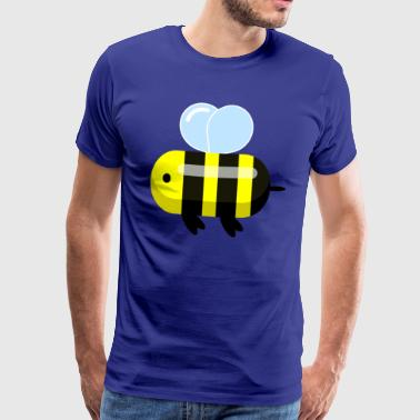 Süße Cartoon Biene /Illustration - Männer Premium T-Shirt