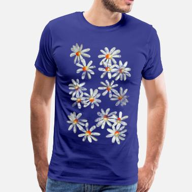 Daisy Gardener flowers prays daisies - Men's Premium T-Shirt