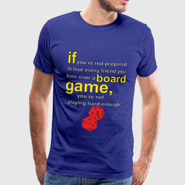 Board Board gamer - Men's Premium T-Shirt