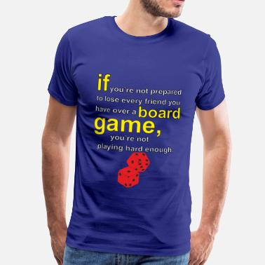 Board Game Board gamer - Men's Premium T-Shirt