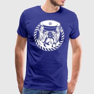 ENGLISH BULLDOG SKIPPER - Männer Premium T-Shirt