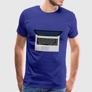 notebook - Männer Premium T-Shirt