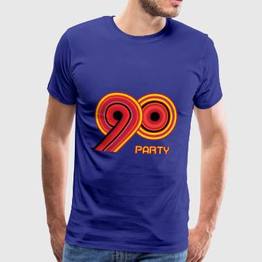 90's party - Mannen Premium T-shirt