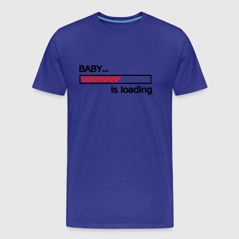 Baby is loading Ladebalken Loading Bar  - Männer Premium T-Shirt