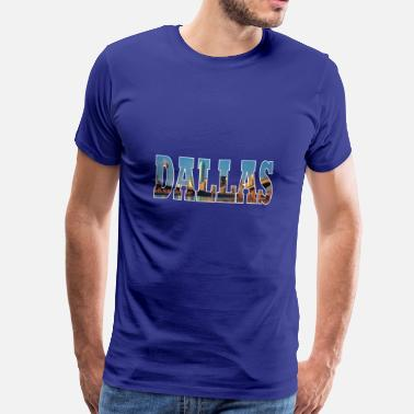 Dallas DALLAS USA - T-shirt Premium Homme