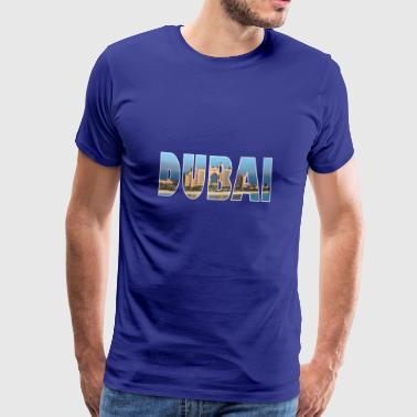 DUBAI UAE - Men's Premium T-Shirt