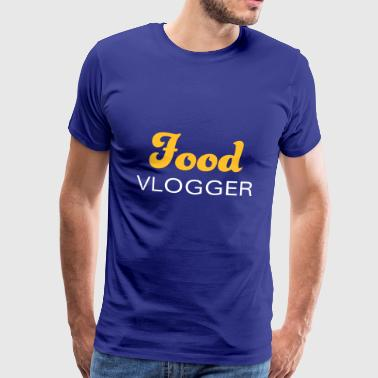 Mad bloggere og vloggers af Food & Wine - Herre premium T-shirt