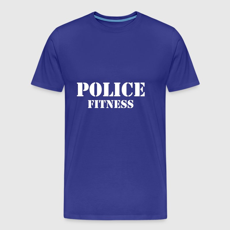 police fitness - Men's Premium T-Shirt