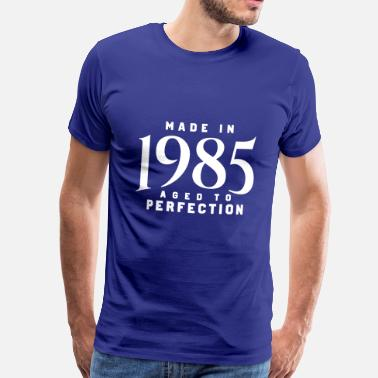 1985 MADE IN 1985 - Premium T-skjorte for menn