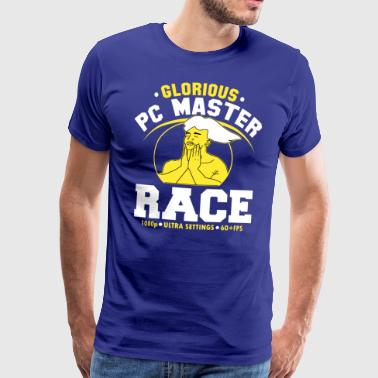 glorious pc gaming master race - T-shirt Premium Homme