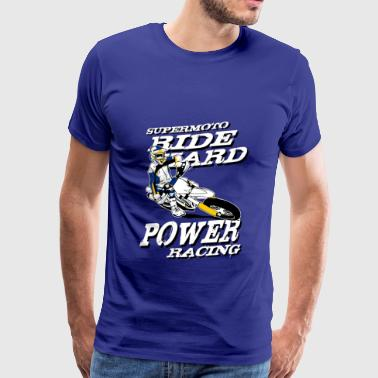 Supermoto Racing - T-shirt Premium Homme