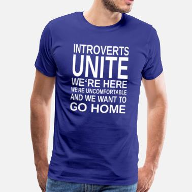 Introvert ++ Introverts Unite ++ - Men's Premium T-Shirt