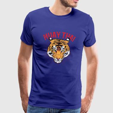 Muay Thai Tiger - Men's Premium T-Shirt