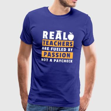 Be inspired by the dedication of all teachers - Men's Premium T-Shirt
