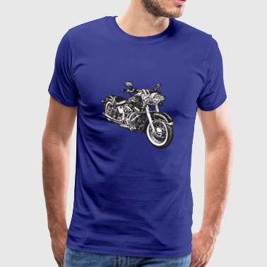 chopper hog bike motorrad - Men's Premium T-Shirt